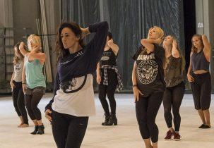 Workshop Chairdance in Haarlem